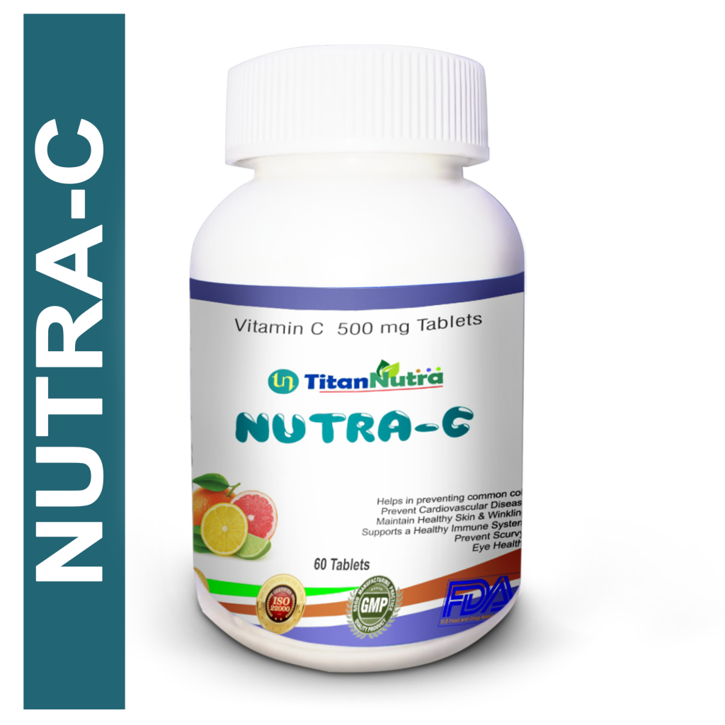 NUTRA-C-vitamin c 500 mg chewable tablet